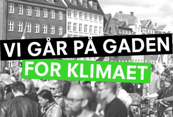 På gaden for klimaet